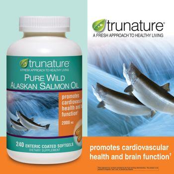 Trunature Pure Wild Alaskan Salmon Oil 240 Enteric